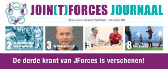 Nieuwe krant JForces!